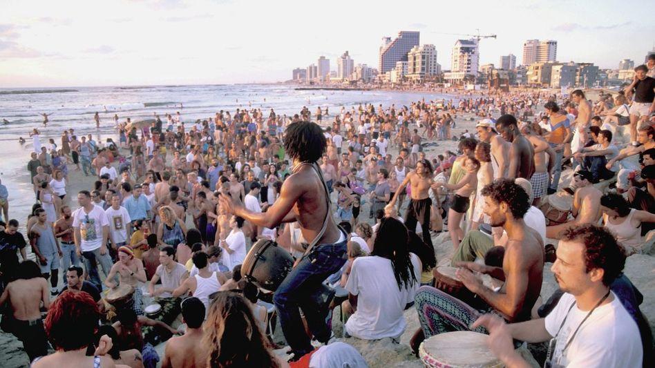 Strandleben in Tel Aviv: Das Recht, auch mal vergessen zu dürfen