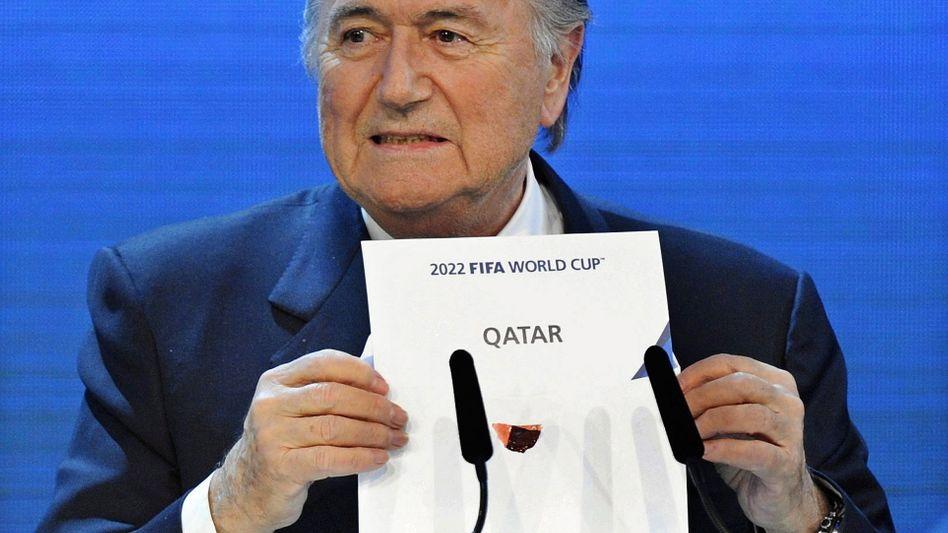 Fifa-Chef Blatter: Nie ein großer Freund der Katar-WM gewesen