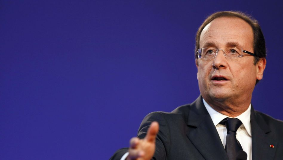 """Französischer Präsident Hollande: """"Die Aktionäre waren zu hungrig"""""""