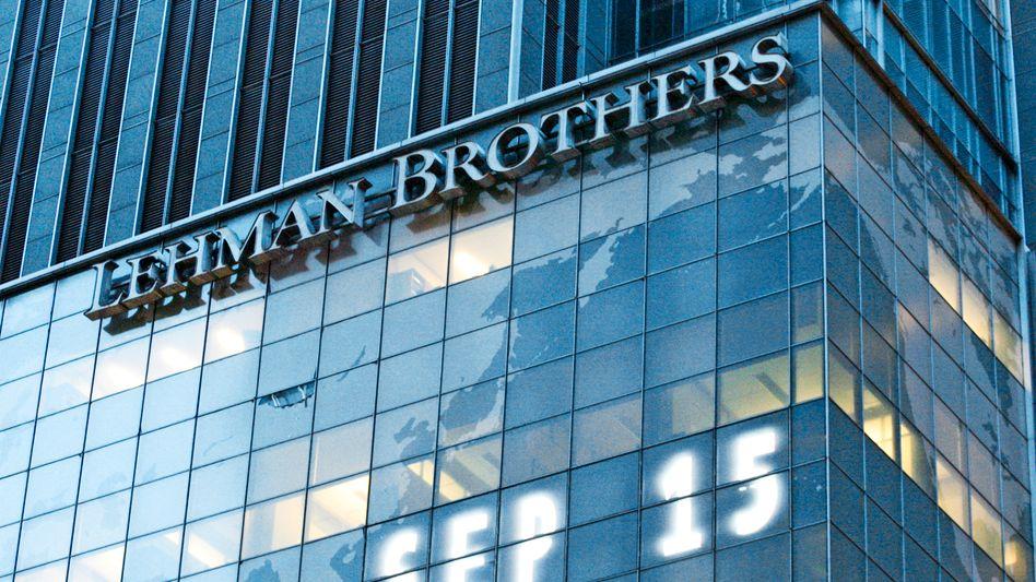 Lehman-Zentrale (September 2008): Höhepunkt der Finanzkrise