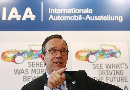 VDA President Matthias Wissmann is the most powerful lobbyist in Germany.