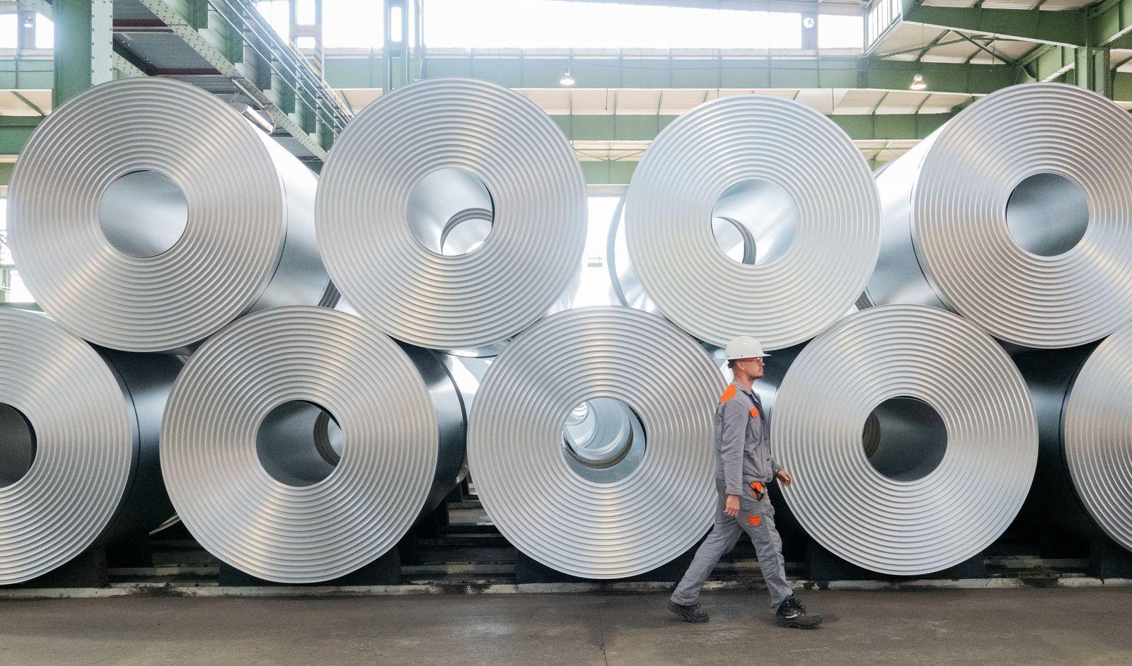 Salzgitter AG will CO2-Emissionen um 95 Prozent senken