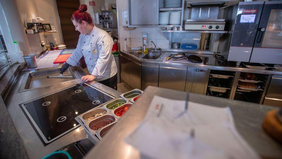 Hotelküche: Viele Gastronomen stehen vor dem Aus