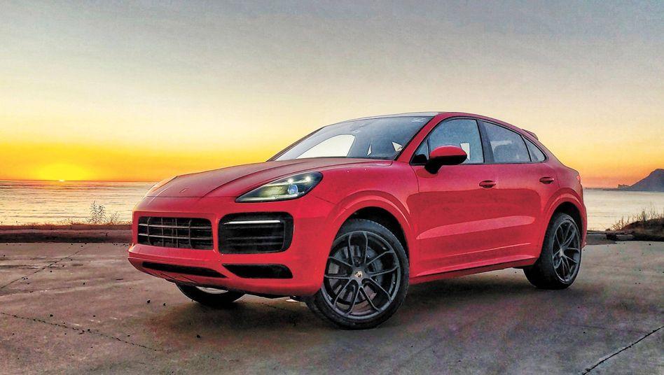 Ein Porsche Cayenne: Bei Porsche stieg die Anzahl ausgelieferter Fahrzeuge um zehn Prozent auf 280.000 Fahrzeuge