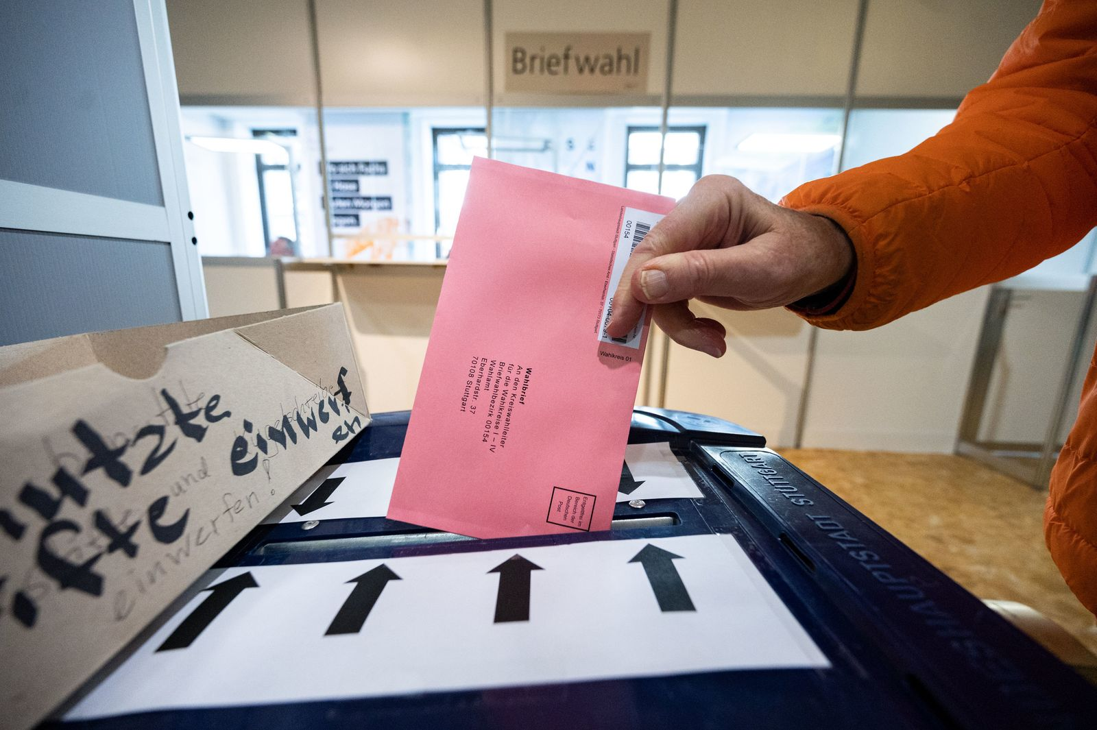 Landtagswahl Baden-Württemberg - Briefwahl