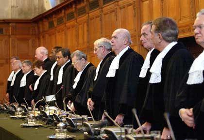 Von den Vereinten Nationen bestellt: Richter des IGH