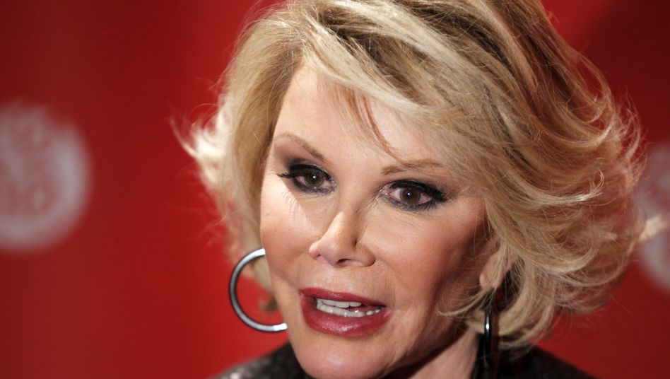 Joan Rivers (2010): Verhängnisvolle Stimmband-Operation