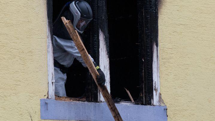 Großbrand: Einsatz in Backnang