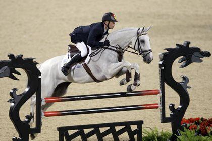Reiter Romeike mit Pferd Marius: Zweimal Gold an einem Tag