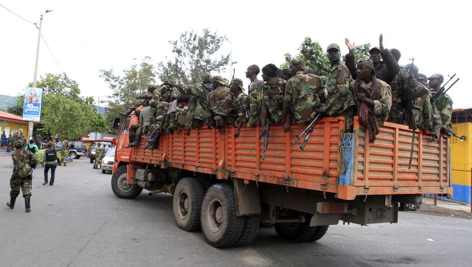 Kämpfe im Kongo: Rebellen rücken in Goma ein