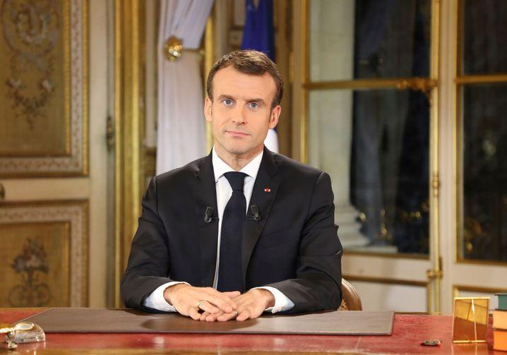 Frankreichs Präsident Macron