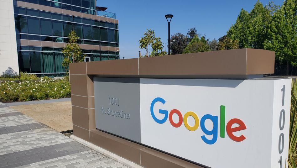 Google ruft zur Heimarbeit auf: Das Hauptquartier des Unternehmens befindet sich in Mountain View in Kalifornien