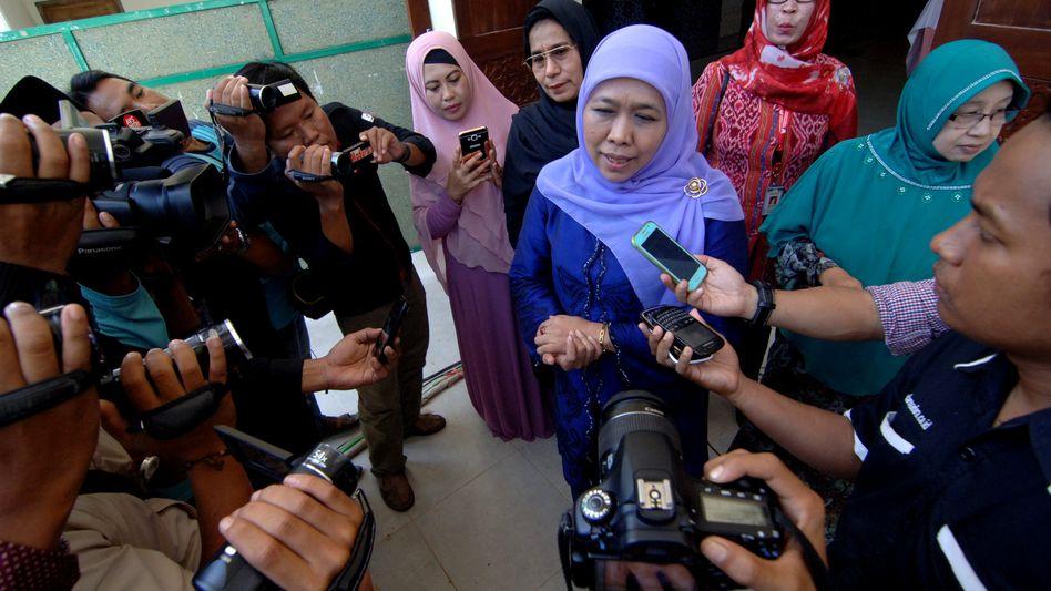 Indonesiens Ministerin Khofifah Indar Parawansa