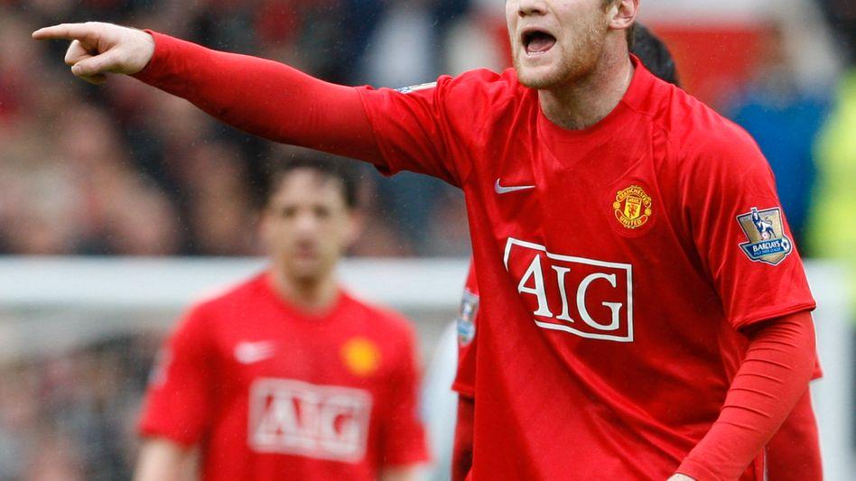 Stürmerstar Rooney: Einer der wenigen Stars, die noch Geld bringen