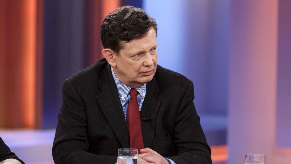 """Autor Schirrmacher: Neues Buch """"Ego - das Spiel des Lebens"""" in TV-Sendung diskutiert"""