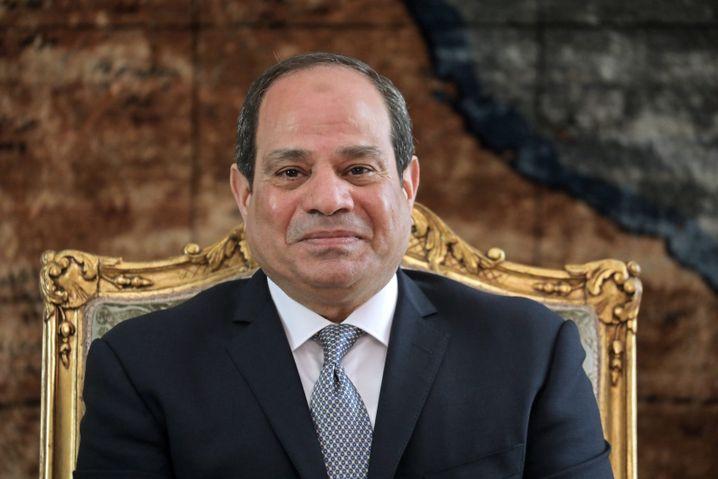 Ägpytens Präsident al-Sisi: Warnt davor, die Konflikte mililtärisch lösen zu wollen.