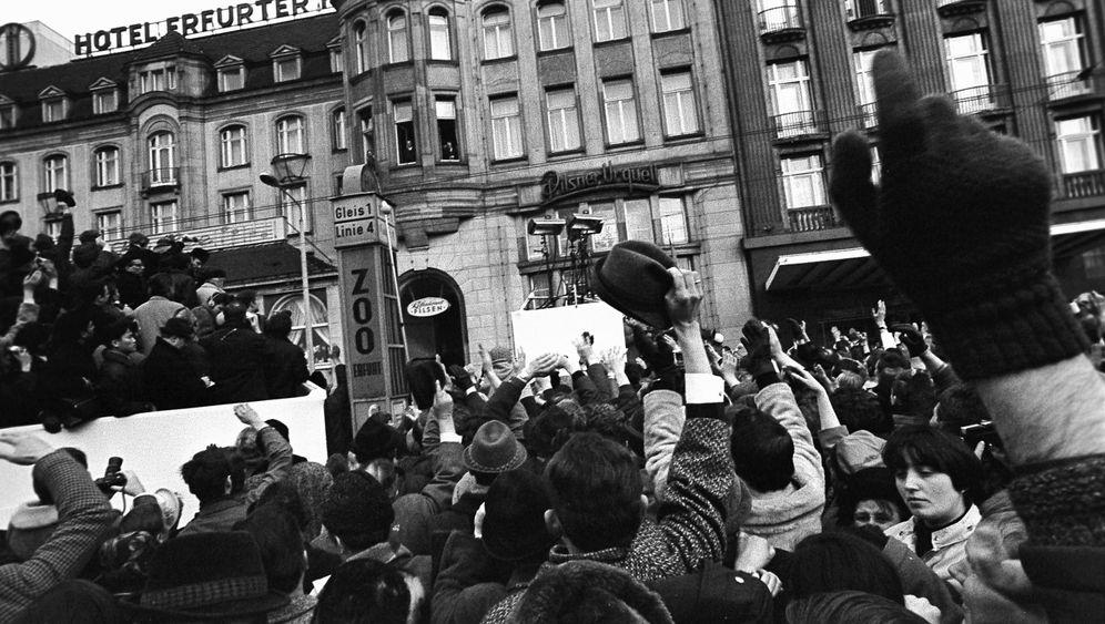 Brandt-Besuch in Erfurt: Fünftausend für Willy