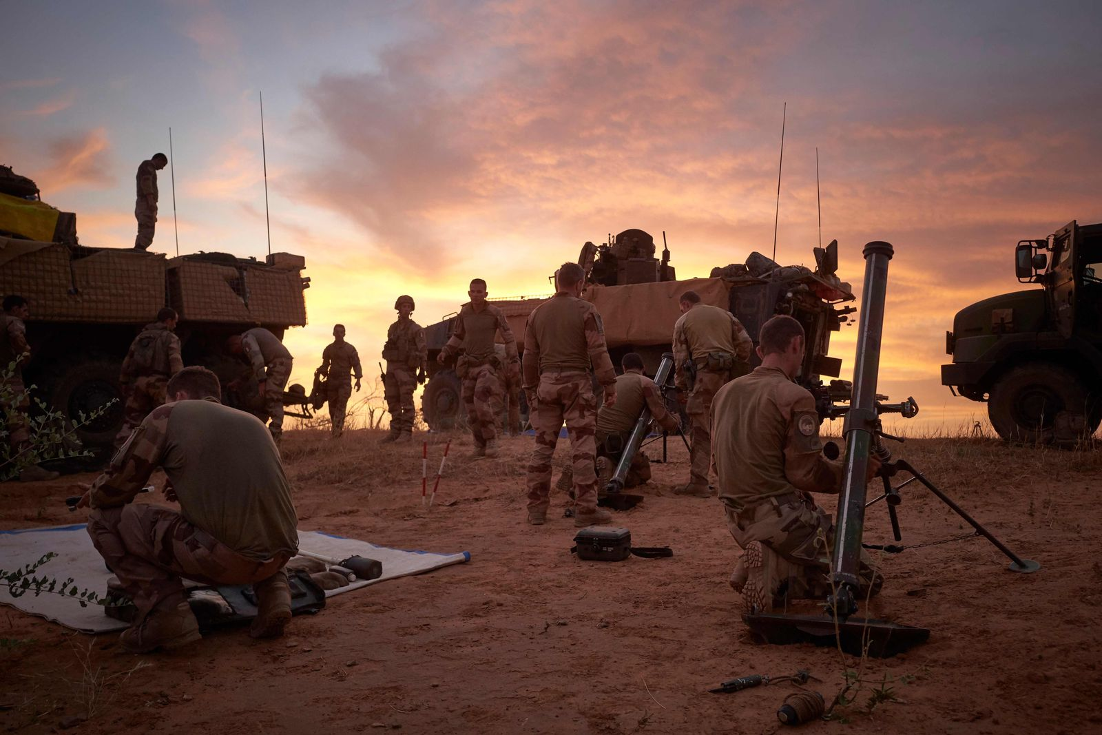 EINMALIGE VERWENDUNG SP 02/2020 S. 26 - Französische Soldaten in Burkina Faso - Das deutsche Rätsel