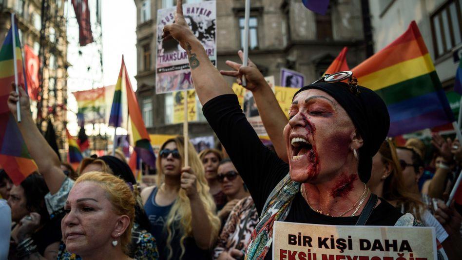 Aktivist*innen in Istanbul