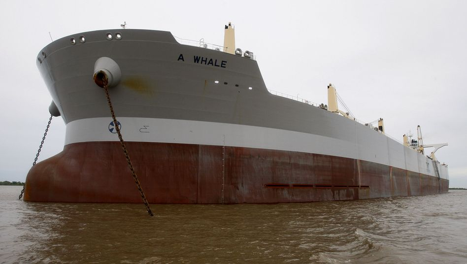 US-Umweltkatastrophe: Riesentanker soll Öl aus dem Golf saugen
