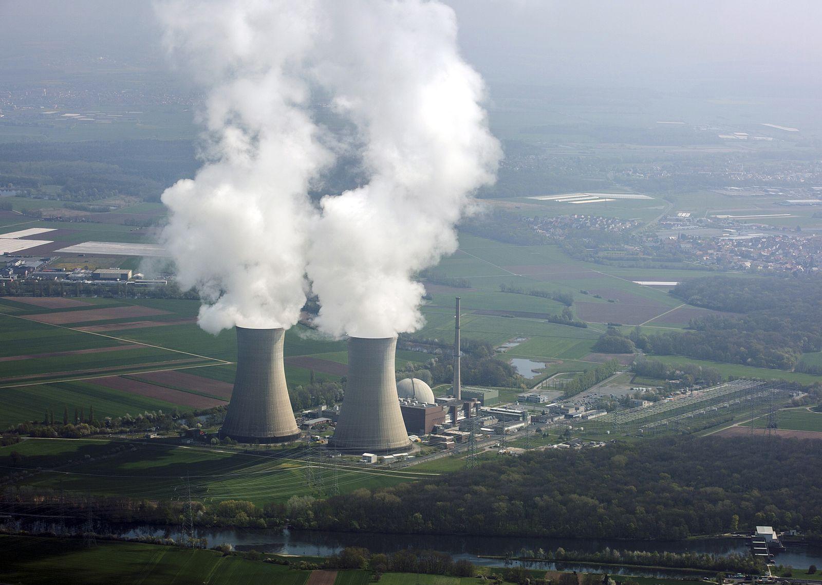 Atomkraftwerk/ Grafenrheinfeld