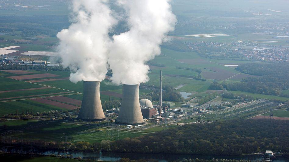 Atomkraftwerk Grafenrheinfeld in Bayern