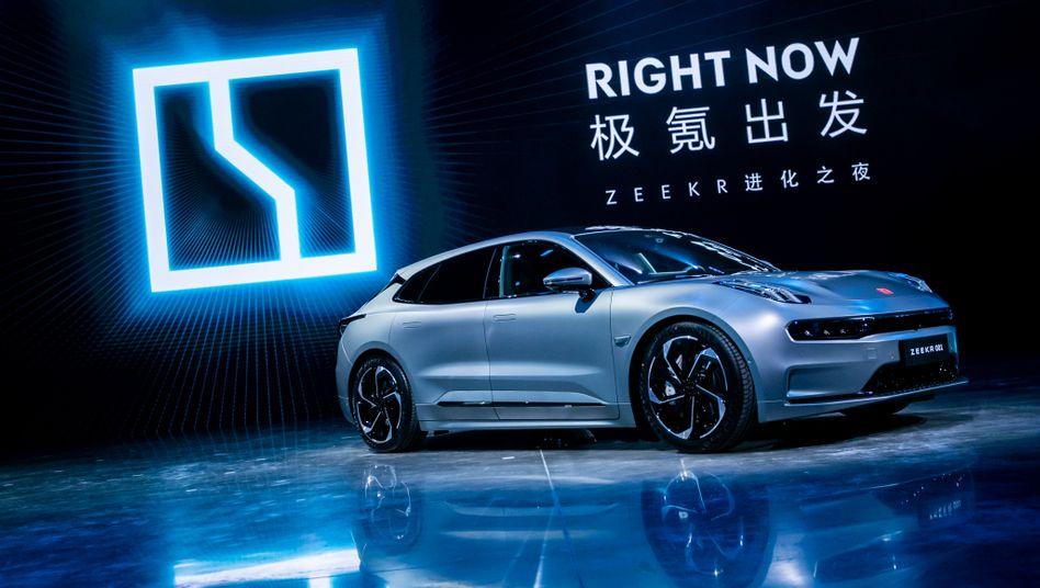 Zeekr 001 von Geely: Neuer Wettbewerber für Porsche Taycan und Teslas Model S