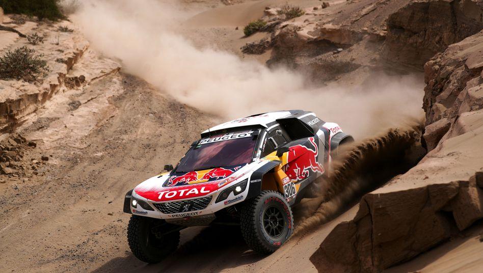 Sebastian Loeb im Peugeot