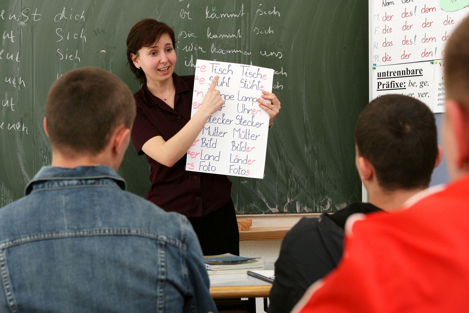 Migranten / Sprachförderung / Integrationskurs Ausländer