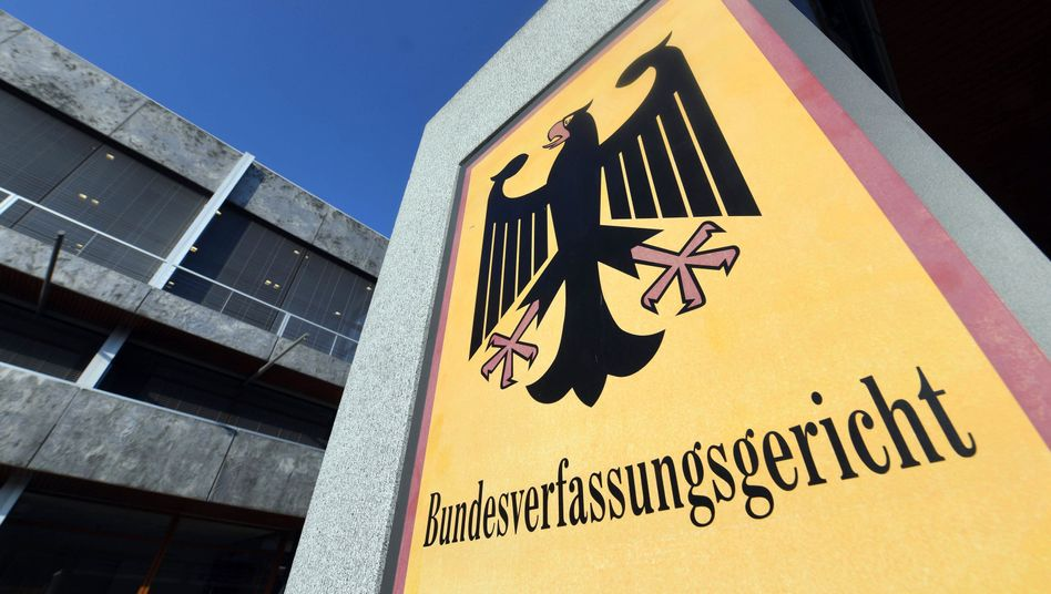 Bundesverfassungsgericht in Karlsruhe (Archiv)
