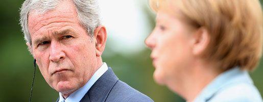 US-Präsident Bush, Kanzlerin Merkel (vor einem Jahr beim G-8-Gipfel in Heiligendamm): Sind 272 neue Reaktoren nötig?