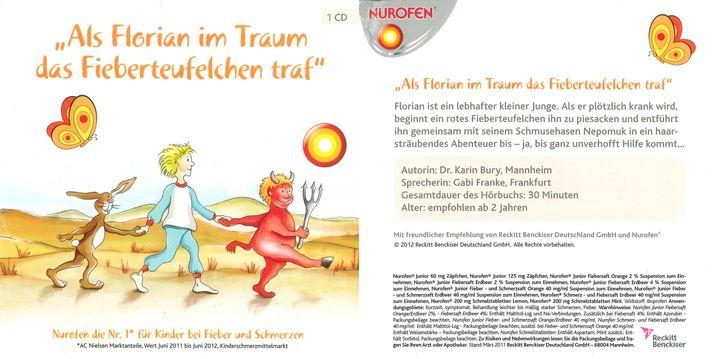 Werbung für einen Fiebersaft per Kinder-CD