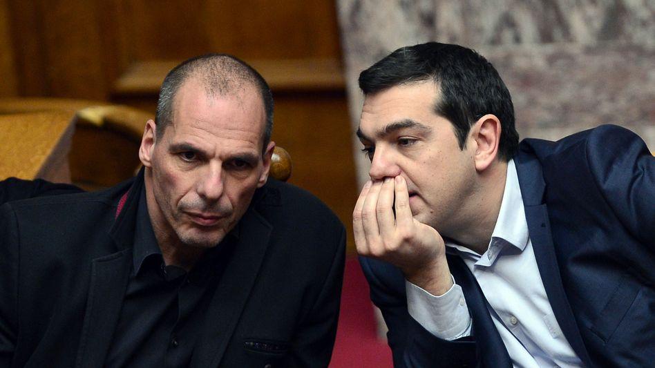 Varoufakis und Tsipras: Deutschland weist Forderungen zurück