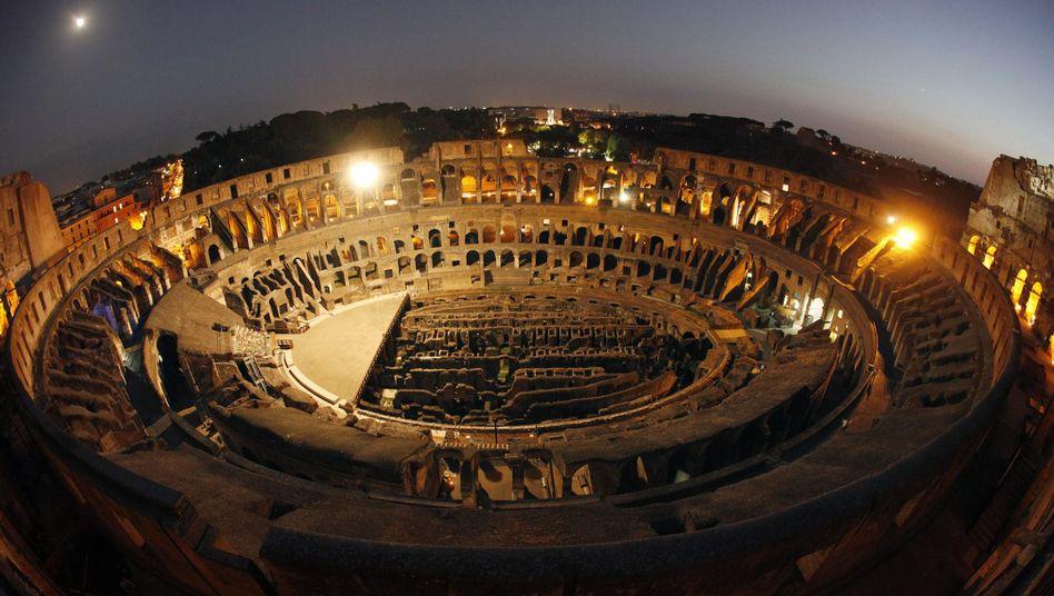 Kolosseum in Rom: Das Picknicken in der Nachbarschaft steht unter Strafe