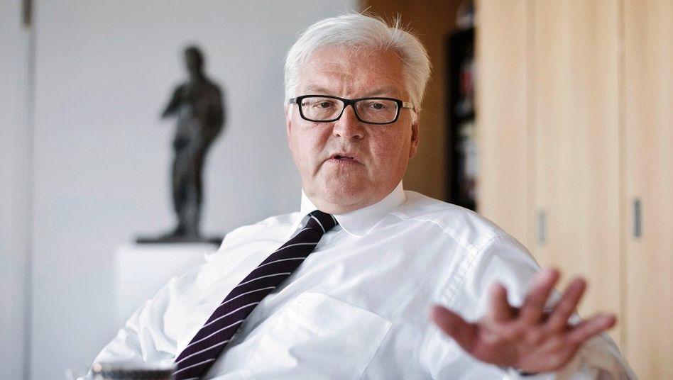 Sozialdemokrat Steinmeier: »Natürlich haben einzelne Mitgliedstaaten unverantwortliche Budgetpolitik betrieben«