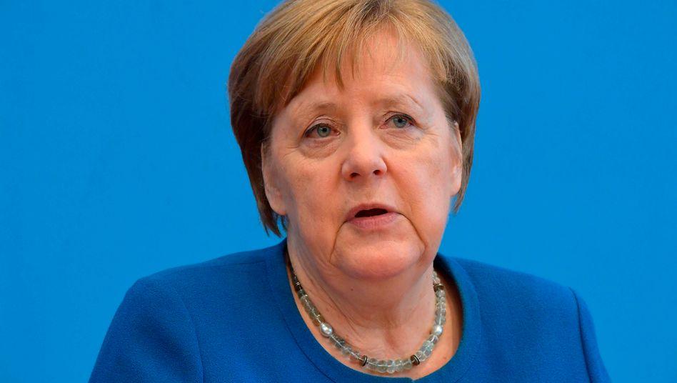 Corona-Krise - Angela Merkel sieht die EU vor ihrer größten Bewährungsprobe