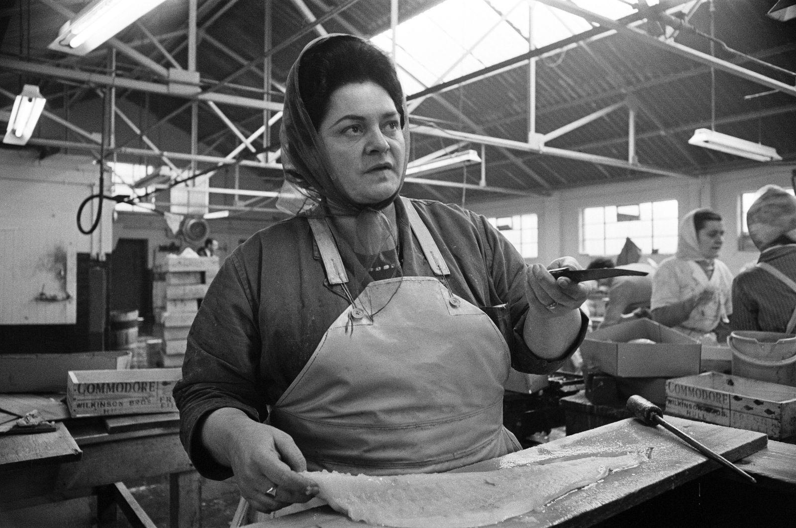 Hull Trawlermen's wives 1968