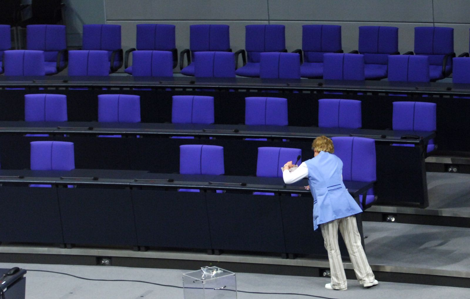 Bundestag / Putzkraft
