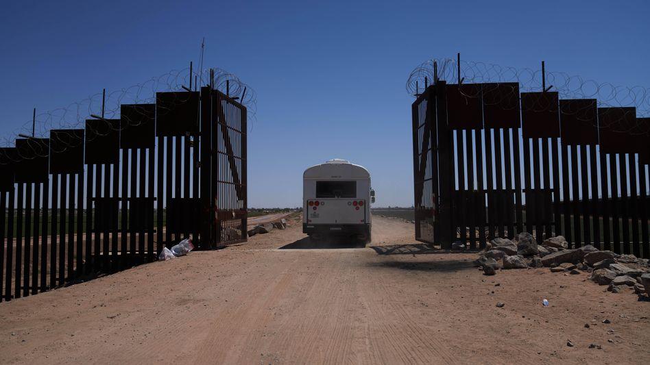 Mauer in Arizona: Bauprojekte aus dem Pentagon-Etat gestoppt