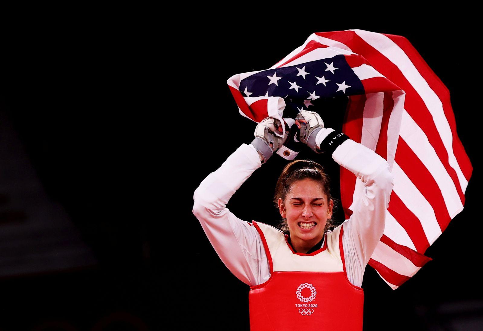 Taekwondo - Women's Featherweight 49-57kg - Gold medal match