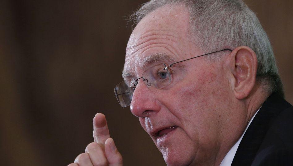Finanzminister Schäuble: CDU-Politiker nimmt am Asem-Treffen in Bangkok teil