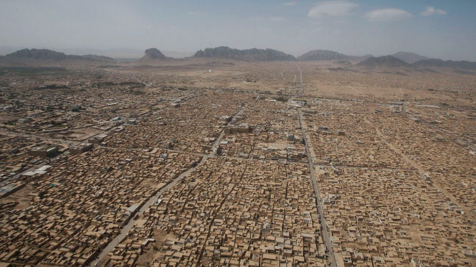 Luftaufnahme von Kandahar (Archivbild)