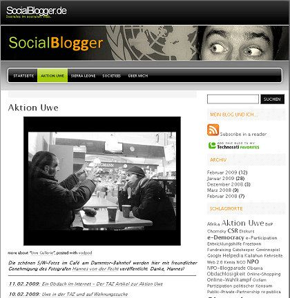 """Blog zur """"Aktion Uwe"""": Publikumswirksame Einzelaktion oder Konzept für eine andere Form des Fundraising?"""