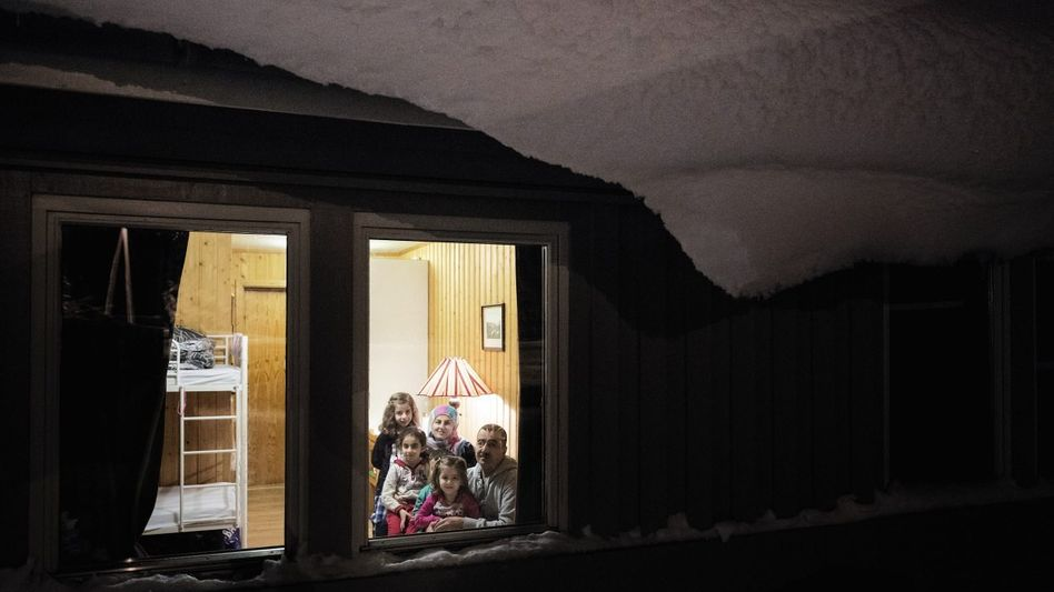 Syrische Familie Osman im norwegischen Kirkenes Eine Arche im Packeis