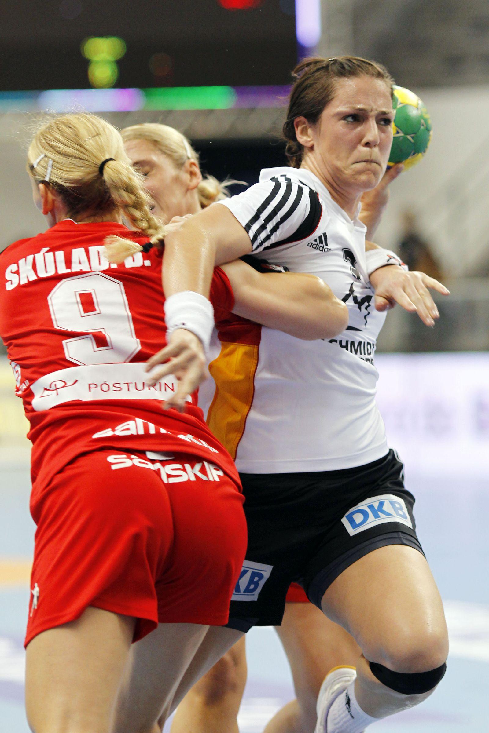 Handball-WM Frauen: Island - Deutschland
