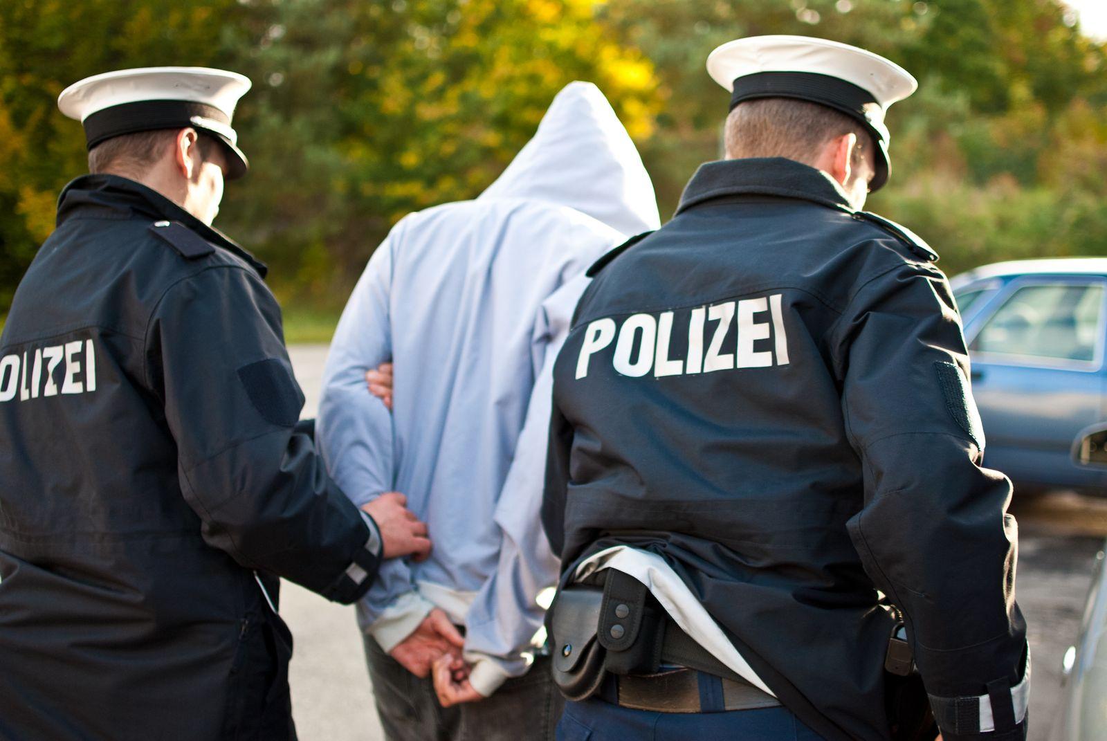 EINMALIGE VERWENDUNG Verhaftung