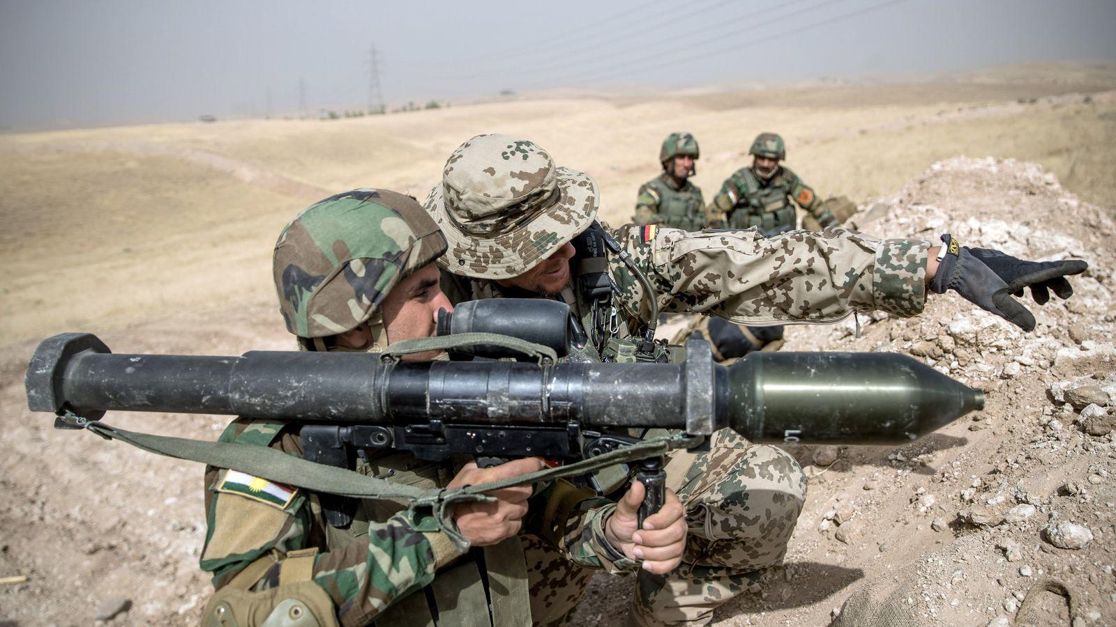 Irak / Bundeswehr / Peschmerga
