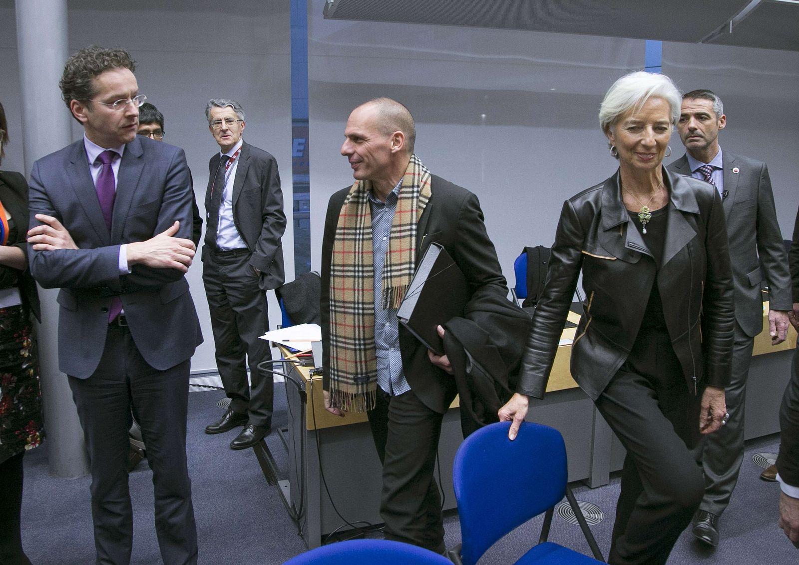 Varoufakis / Dijsselbloem