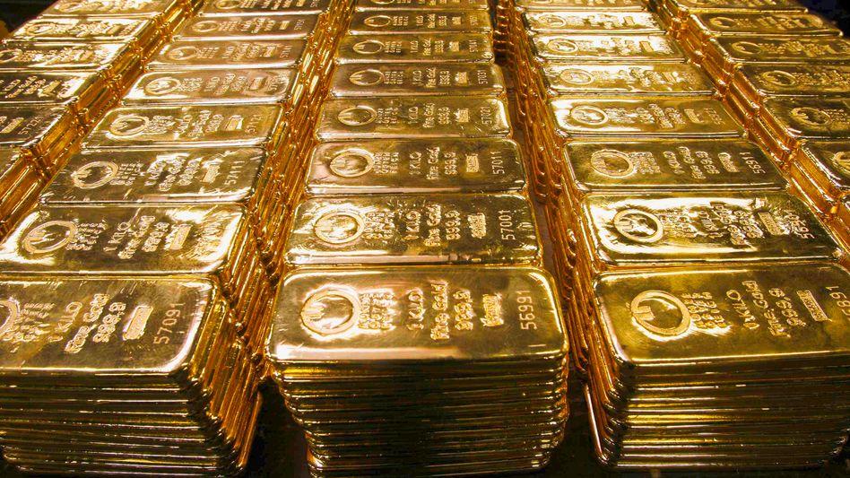 Goldbarren: Wie viele davon lagern in den USA?