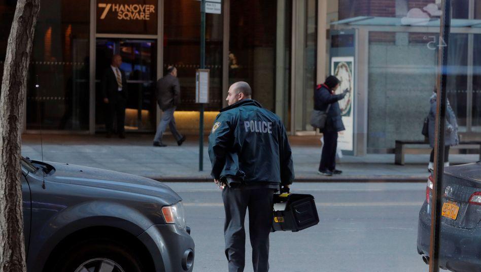 New Yorker Polizist (Symbolbild)